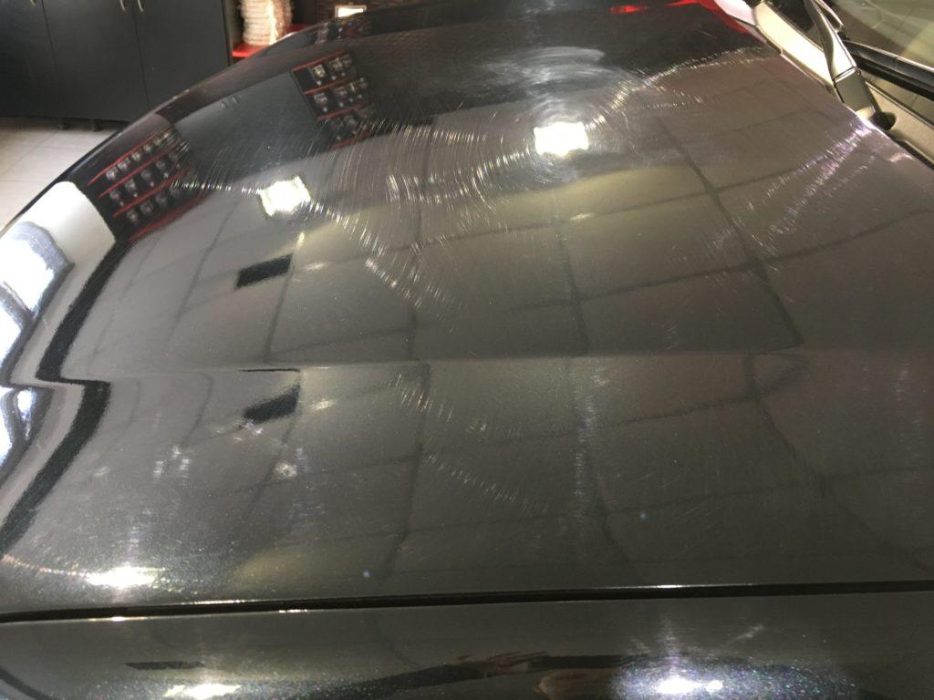 Восстановительная полировка кузова автомобиля